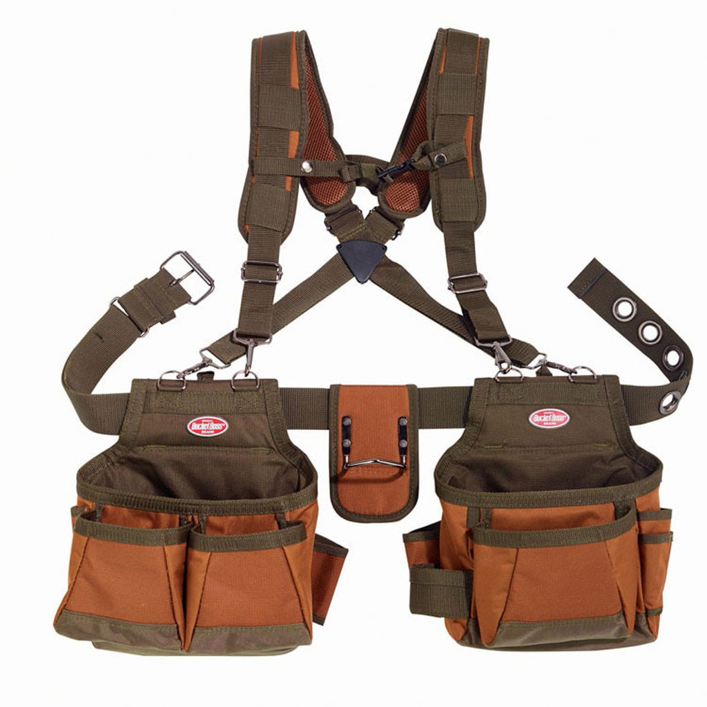 Bucket Boss Brown Airlift Suspension Rig