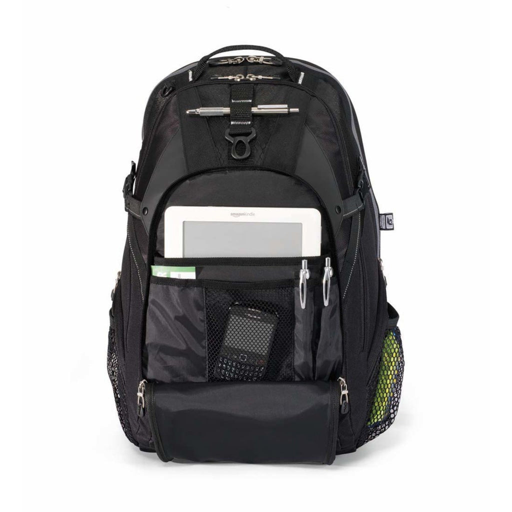 Vertex Black Computer Backpack II
