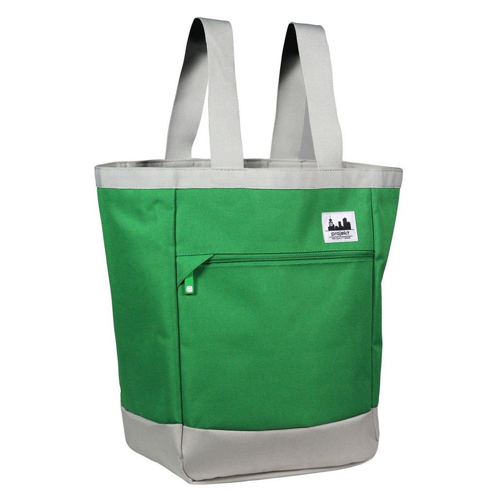 Projekt Green/Tan Kandy Tote