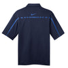 Nike Men's Navy Dri-FIT Short Sleeve Graphic Polo