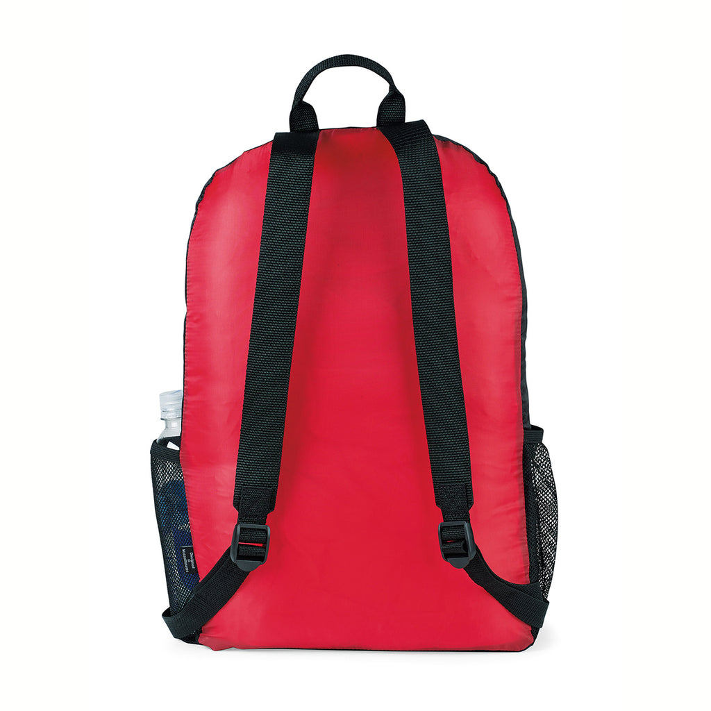 Gemline Red Express Packable Backpack