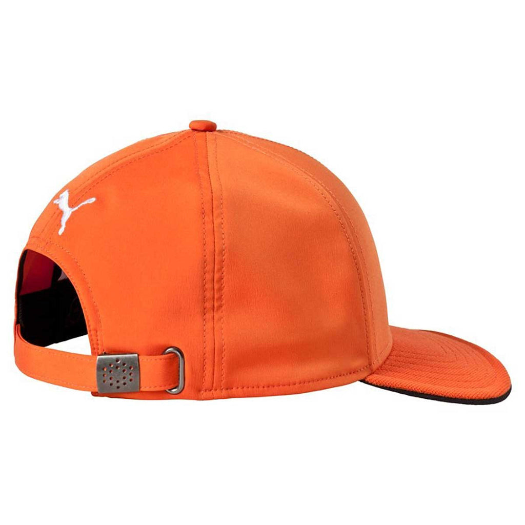 Puma Golf Vibrant Orange/White Cat Patch 2.0 Adjustable Cap