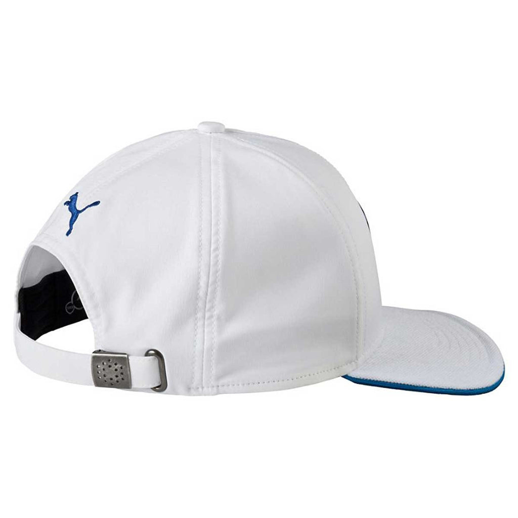 Puma Golf White/Surf the Web Cat Patch 2.0 Adjustable Cap