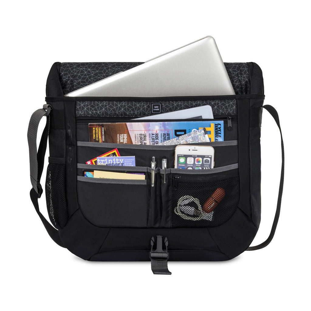 Vertex Black Condor Computer Messenger Bag