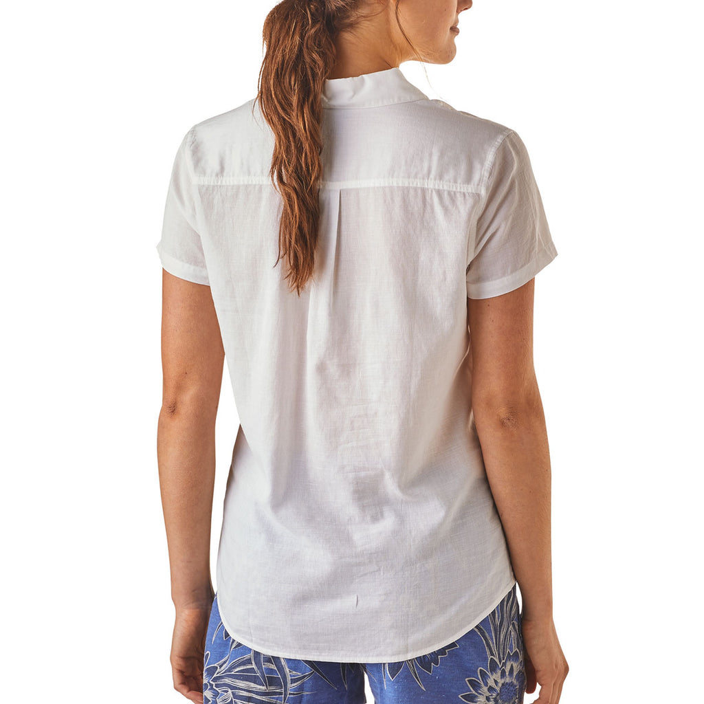 Patagonia Women's White Lightweight A/C Top