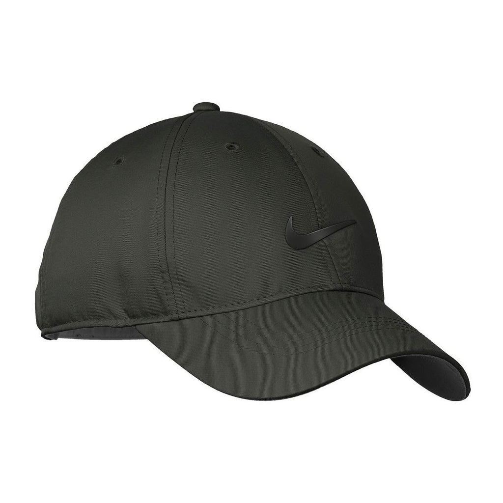 Nike Charcoal Grey Dri-FIT Swoosh Front Cap