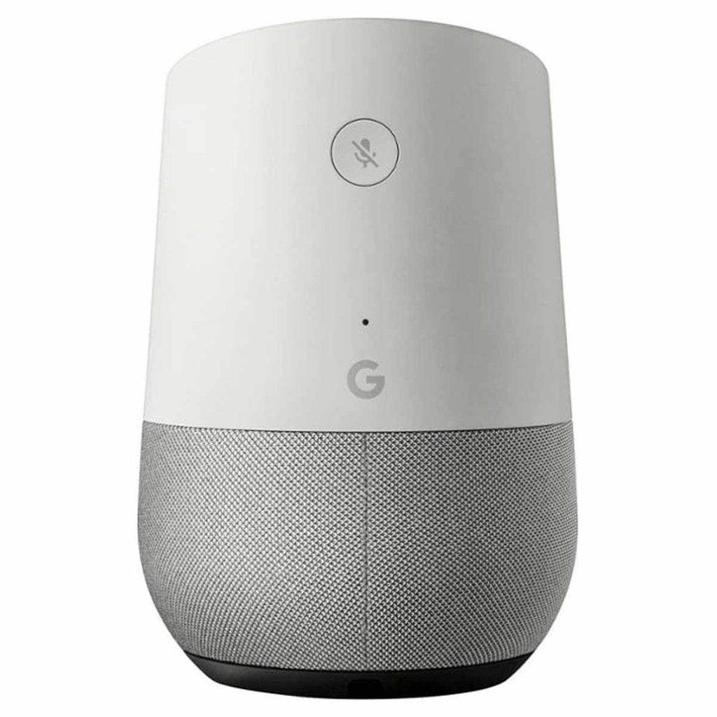 Google White/Slate Smart Speaker with Google Assistant