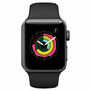 Apple Space Grey Aluminum/Black Watch Series 3 (GPS) 38mm Smartwatch