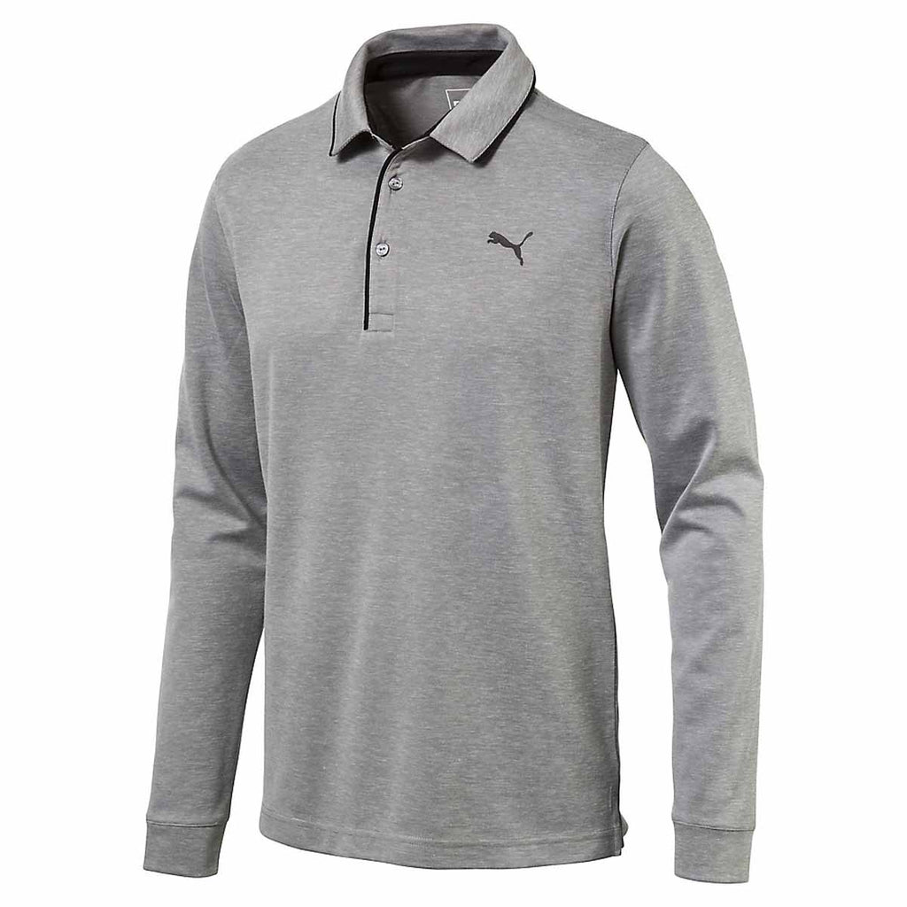 3f7a8759d1af Puma Golf Men s Quiet Shade Tailored Long Sleeve Polo