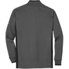 Nike Men's Dark Grey Dri-FIT L/S Quarter Zip Shirt