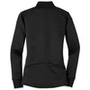 Nike Women's Black/White Dri-FIT Long Sleeve Quarter Zip Shirt