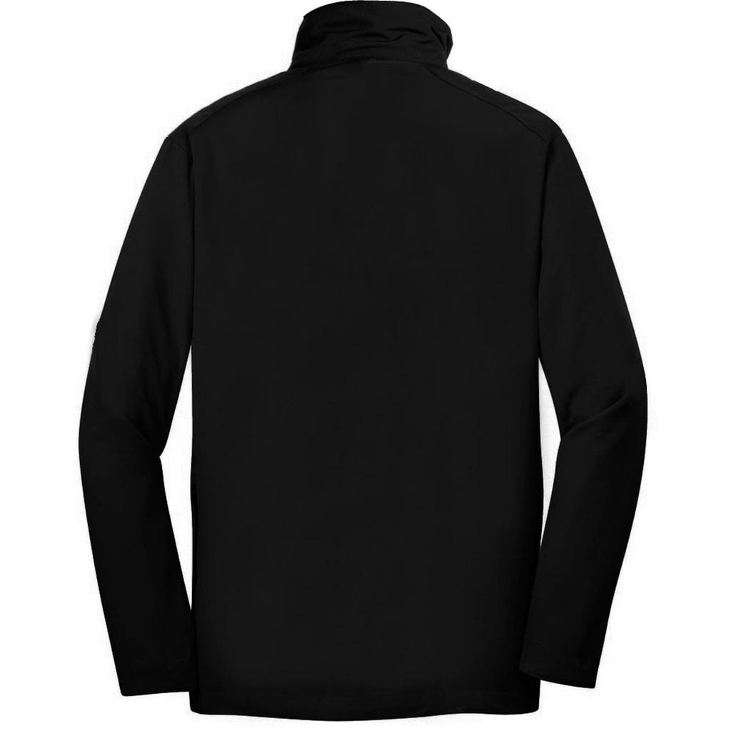 Nike Golf Men's Black Dri-FIT L/S Half Zip Wind Shirt