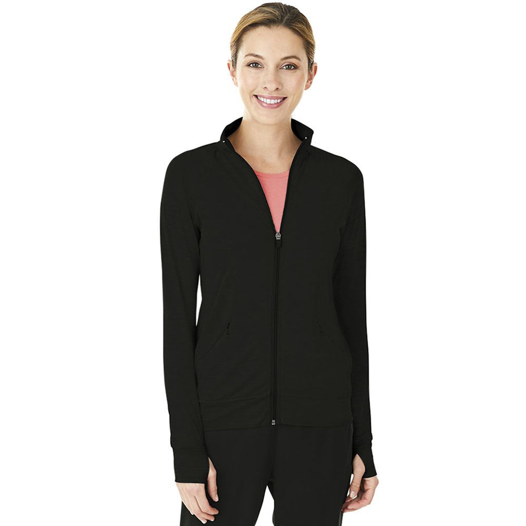 Charles River Women's True Black Fitness Jacket