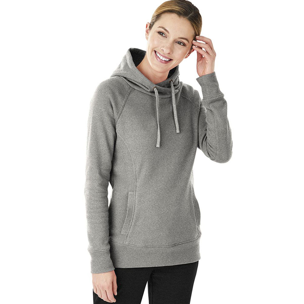 Charles River Women's Heather Grey Hometown Hoodie