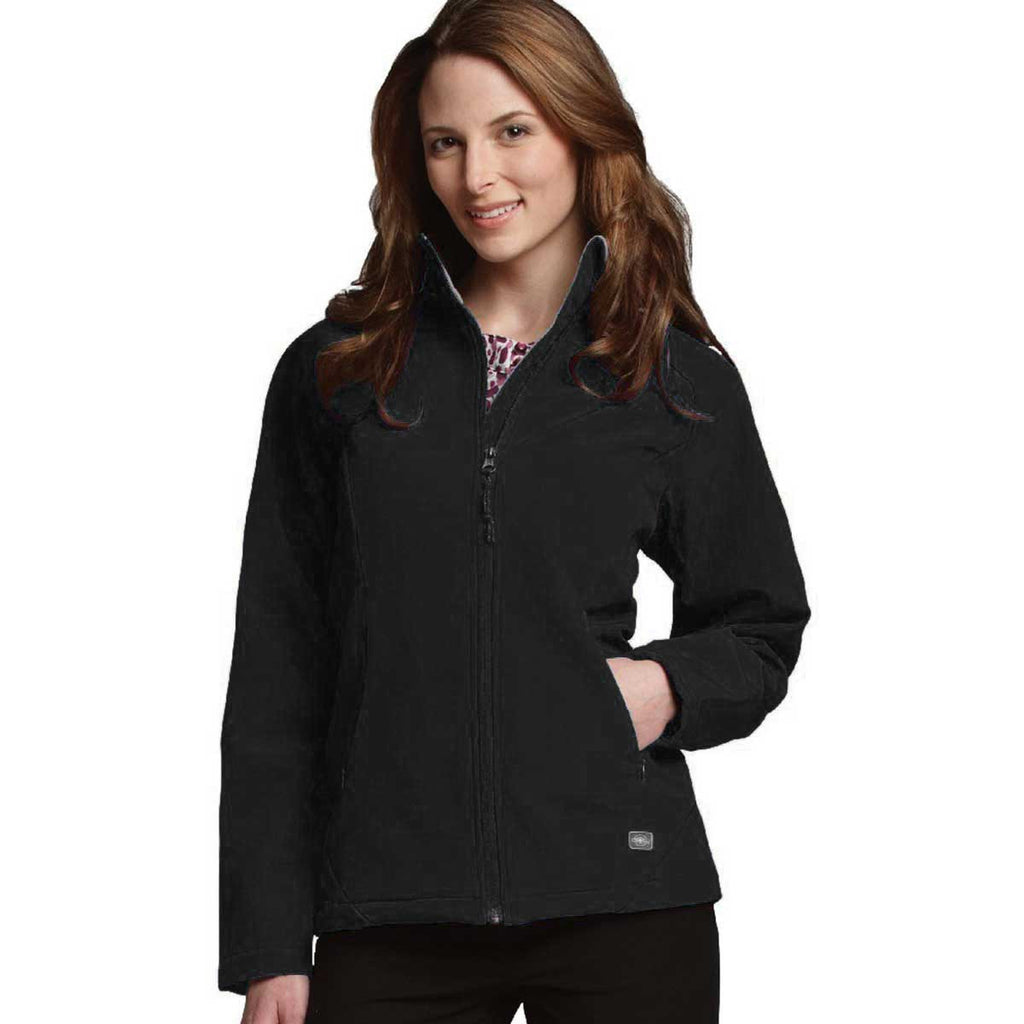 Charles River Women's Black Ultima Soft Shell Jacket