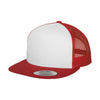 6006w-yupoong-red-cap