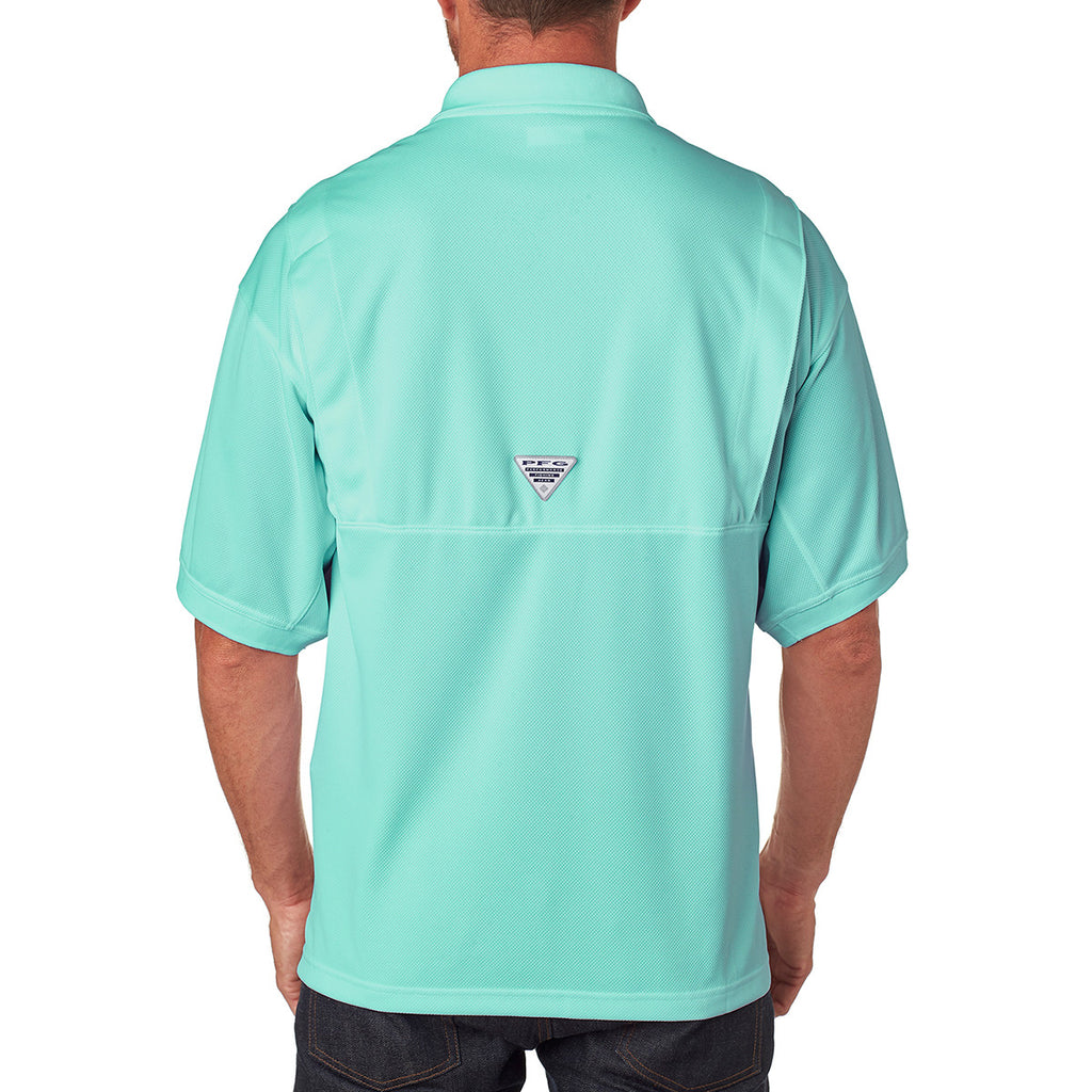 Columbia Men's Gulf Stream Green Perfect Cast Polo