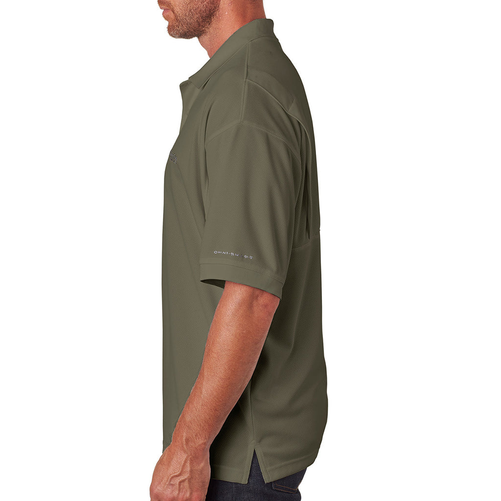 Columbia Men's Sage Green Perfect Cast Polo
