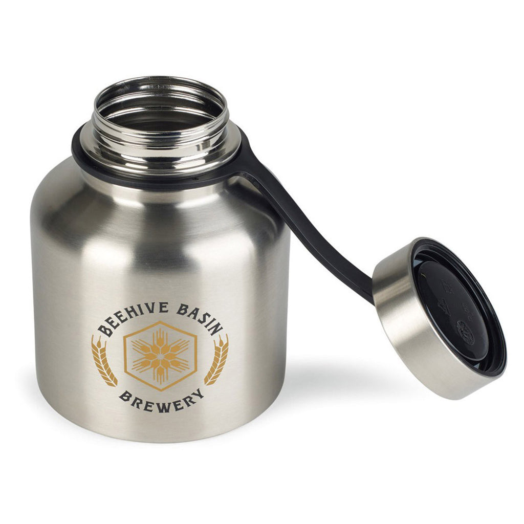 Gemline Stainless Steel Dakota Stainless Growler-37oz