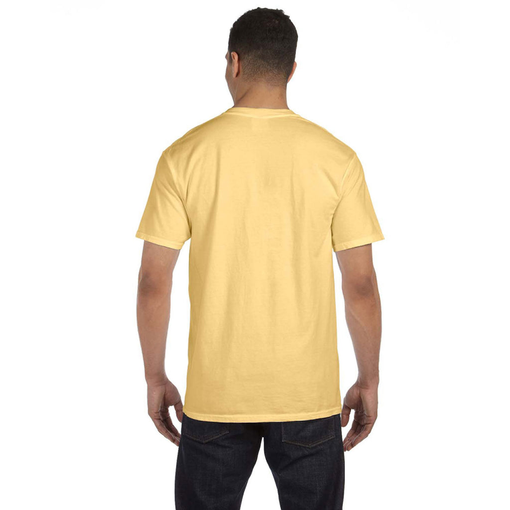 Comfort Colors Men's Butter 6.1 oz. Pocket T-Shirt
