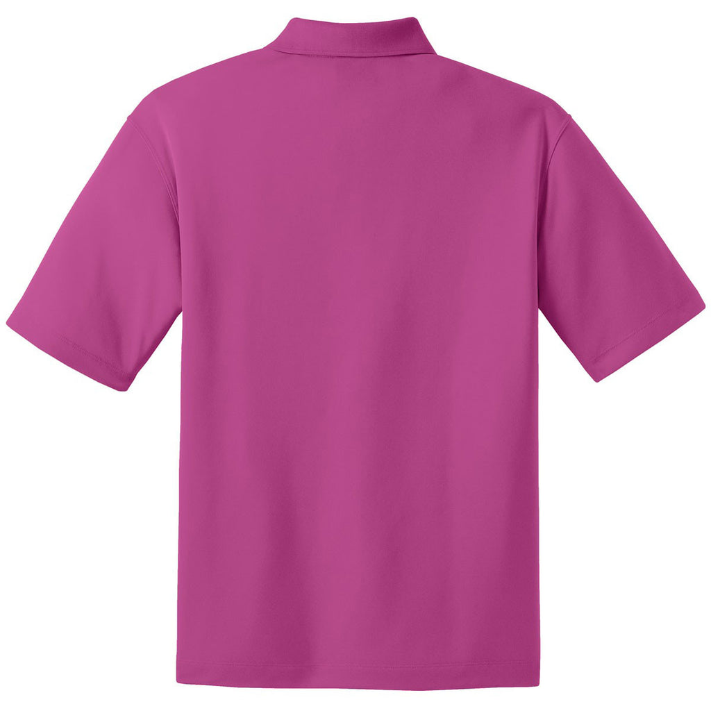Nike Men's Tall Bright Pink Dri-FIT S/S Micro Pique Polo