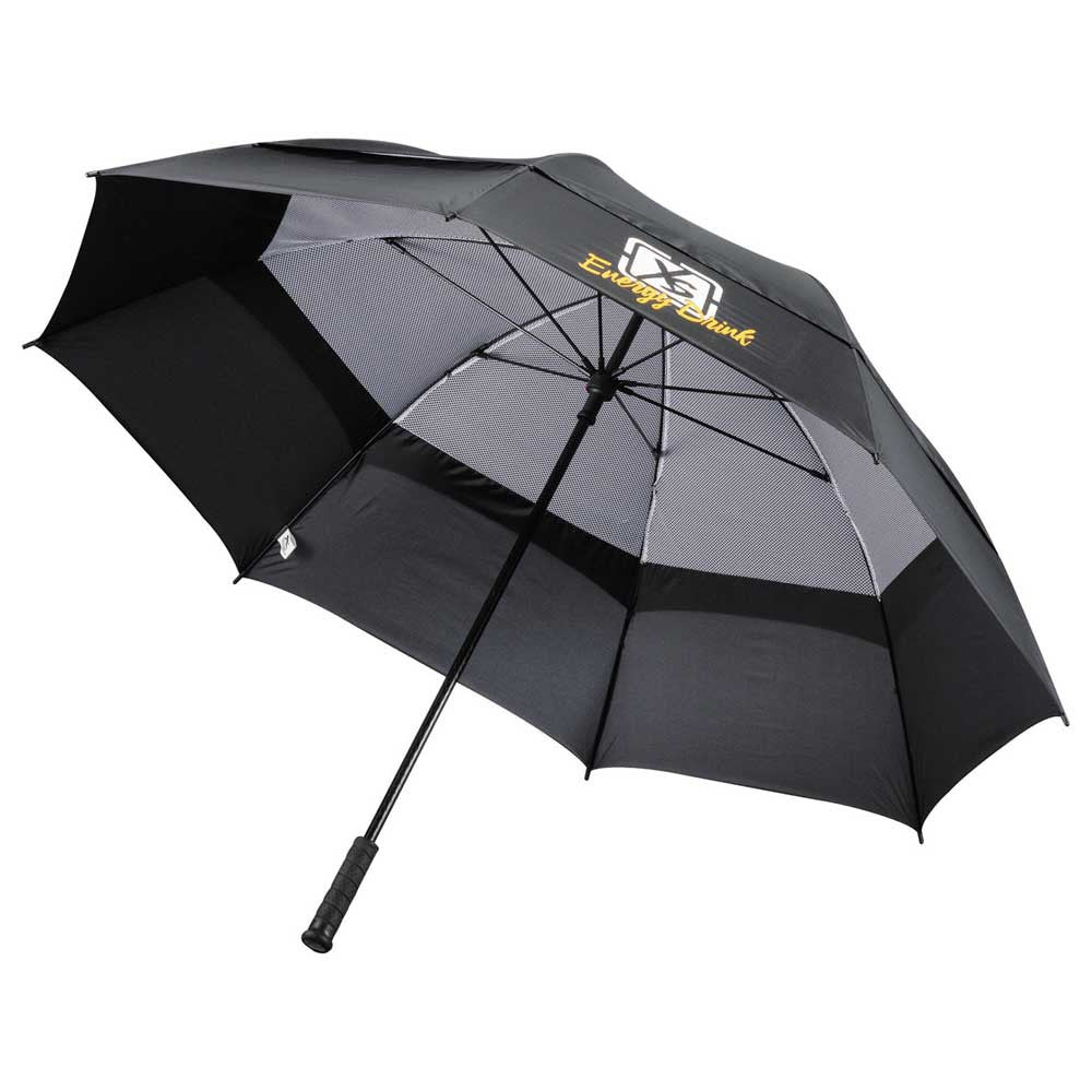 "Slazenger Black 60"" Fairway Vented Golf Umbrella"