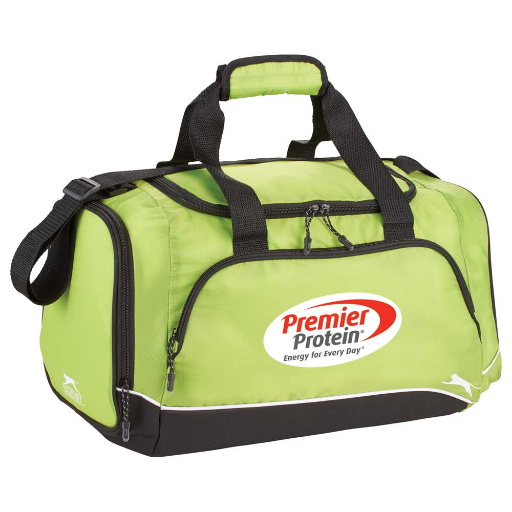 Slazenger Neon Green Dash Duffel Bag