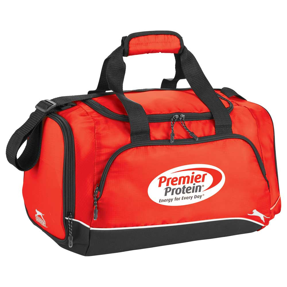 Slazenger Red Dash Duffel Bag