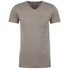 6240-next-level-grey-v-neck-tee
