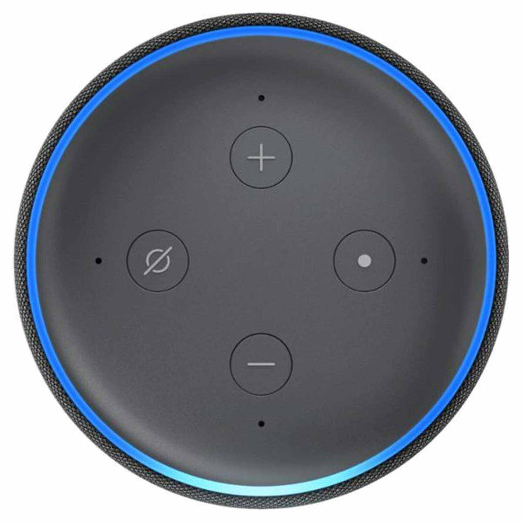 Amazon Charcoal Echo Dot (3rd Generation) Smart Speaker with Alexa