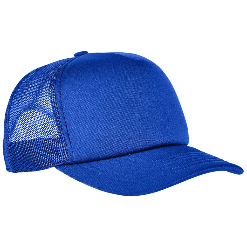 Customized Embroidered Hats With Your Logo Company Logo Hat YUPOONG 6320 Foam  Trucker CURVED VISOR Yupoong Caps