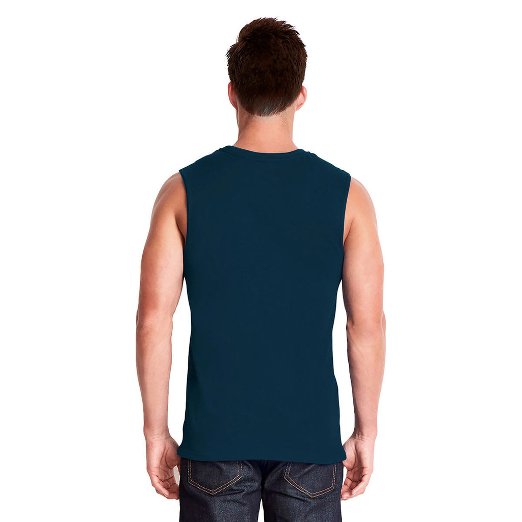 Next Level Men's Midnight Navy Muscle Tank