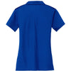 Nike Women's Royal Dri-FIT Short Sleeve Vertical Mesh Polo