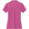 Nike Women's Pink Dri-FIT S/S Vertical Mesh Polo