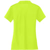 Nike Women's Bright Green Dri-FIT S/S Vertical Mesh Polo