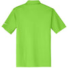 Nike Men's Green Dri-FIT S/S Vertical Mesh Polo