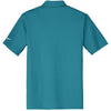 Nike Men's Turquoise Dri-FIT Short Sleeve Vertical Mesh Polo