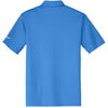 Nike Men's Blue Dri-FIT S/S Vertical Mesh Polo