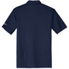 Nike Men's Navy Dri-FIT S/S Vertical Mesh Polo