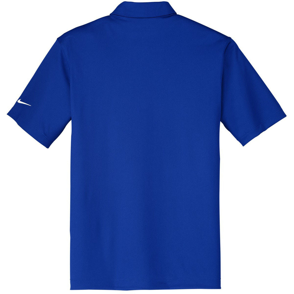 Nike Men's Royal Dri-FIT S/S Vertical Mesh Polo