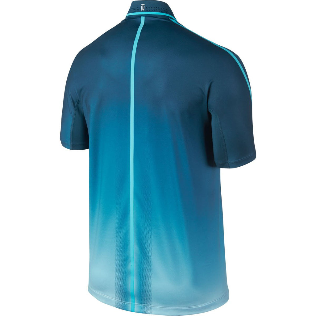 Nike Men's Blue Force/Water TW Glow Polo