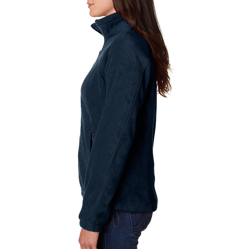 Columbia Women's Navy Benton Springs Full-Zip Fleece