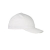 0cb4d7b1dfa 6590-flexfit-white-organic-brushed-twill-cap. A low-profile ...