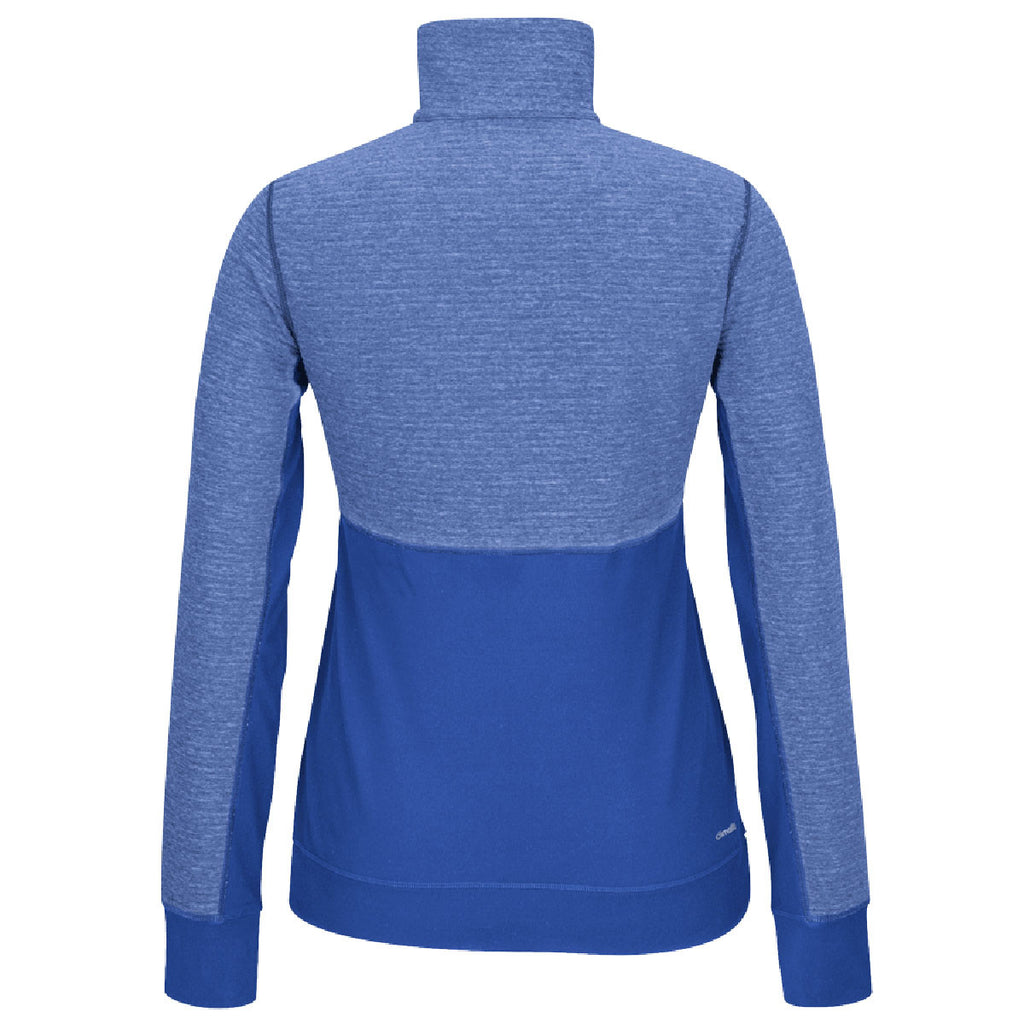 adidas Women's Royal Climalite Twist 1/2 Zip