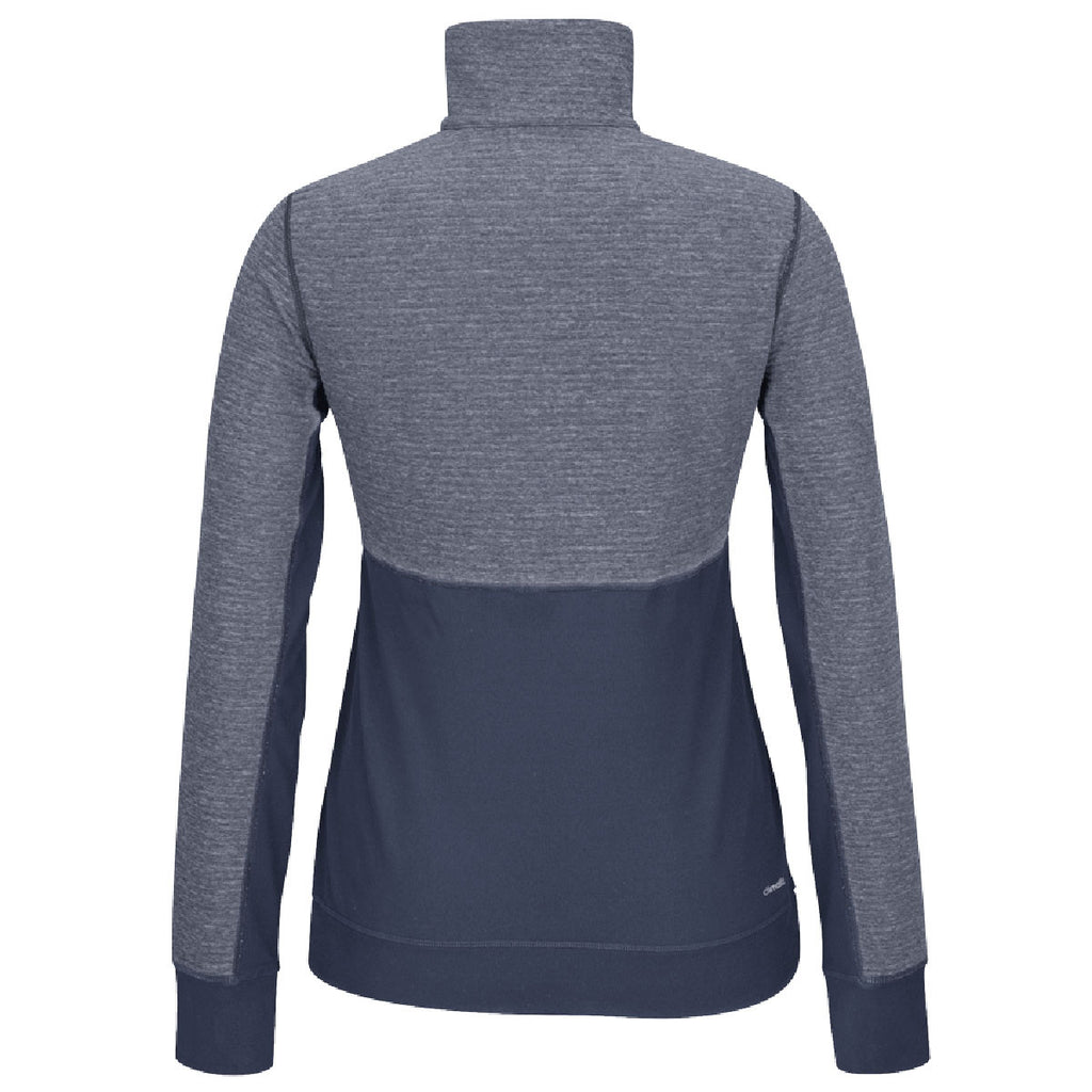 adidas Women's Navy Climalite Twist 1/2 Zip