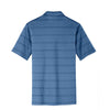 Nike Men's Blue/Navy Dri-FIT S/S Fade Stripe Polo
