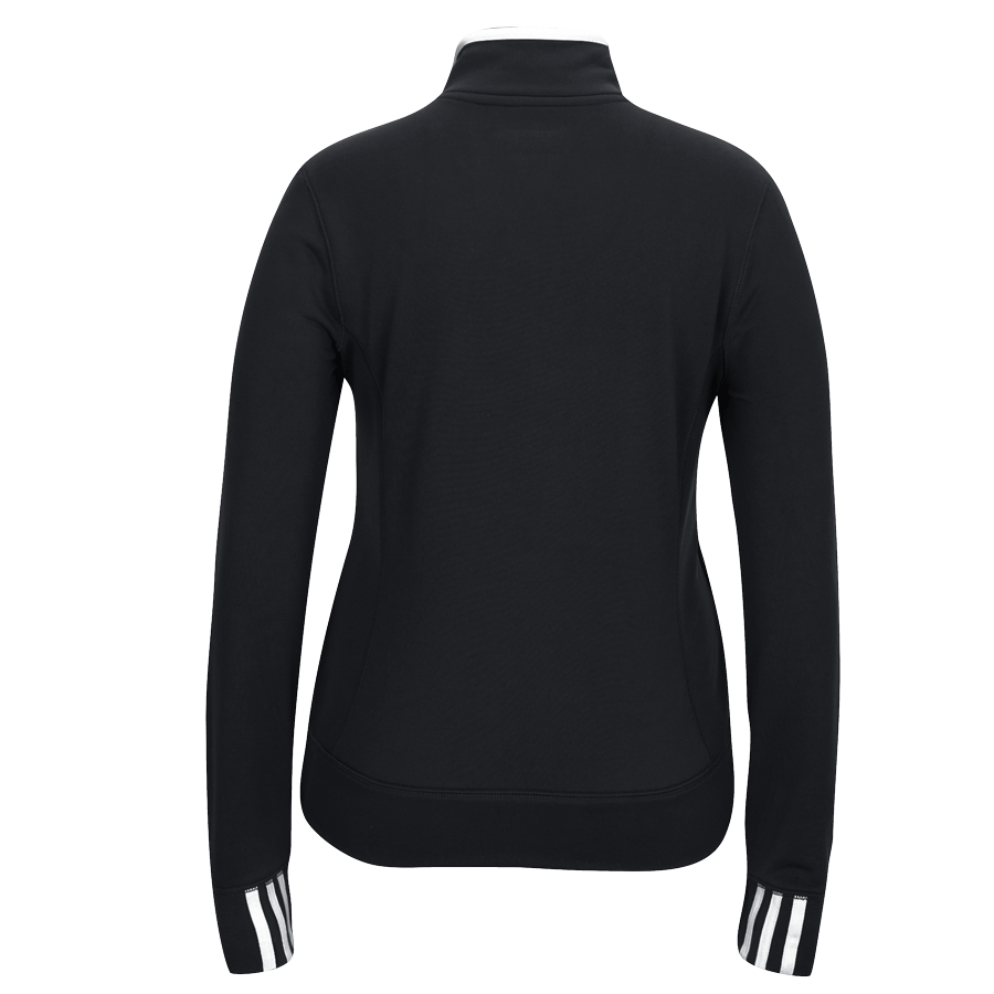 adidas Women's Black Climalite 1/4 Zip