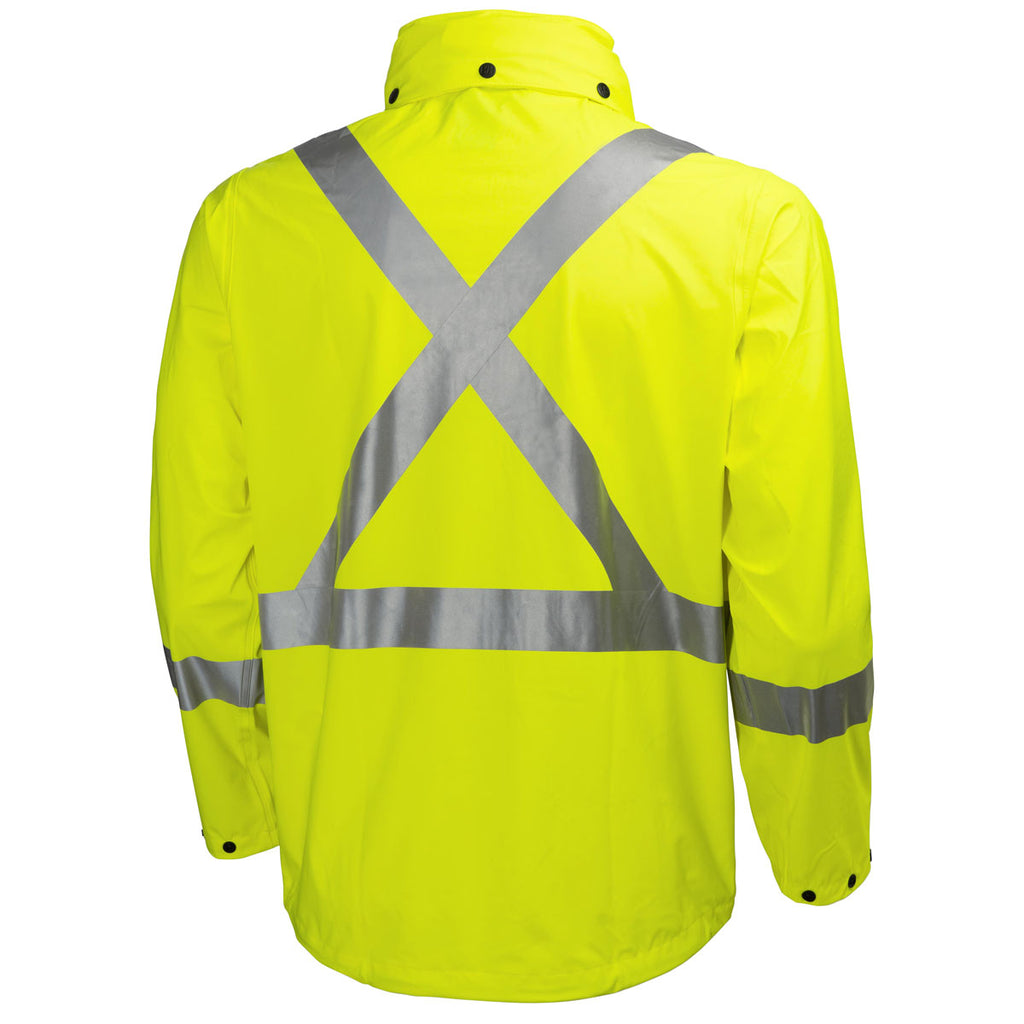 Helly Hansen Men's High Visibility Yellow Narvik Jacket with CSA