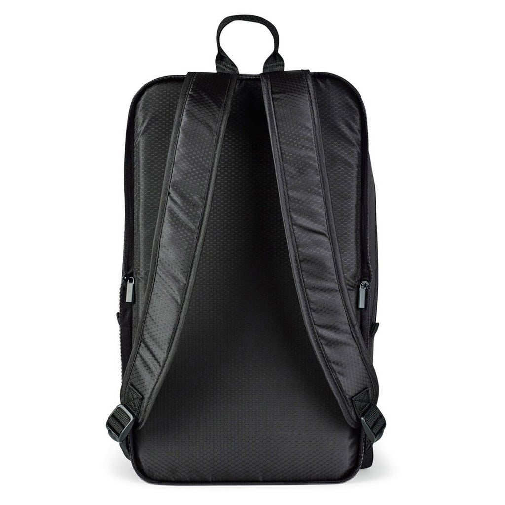 Brookstone Black Dash Packable Travel Backpack