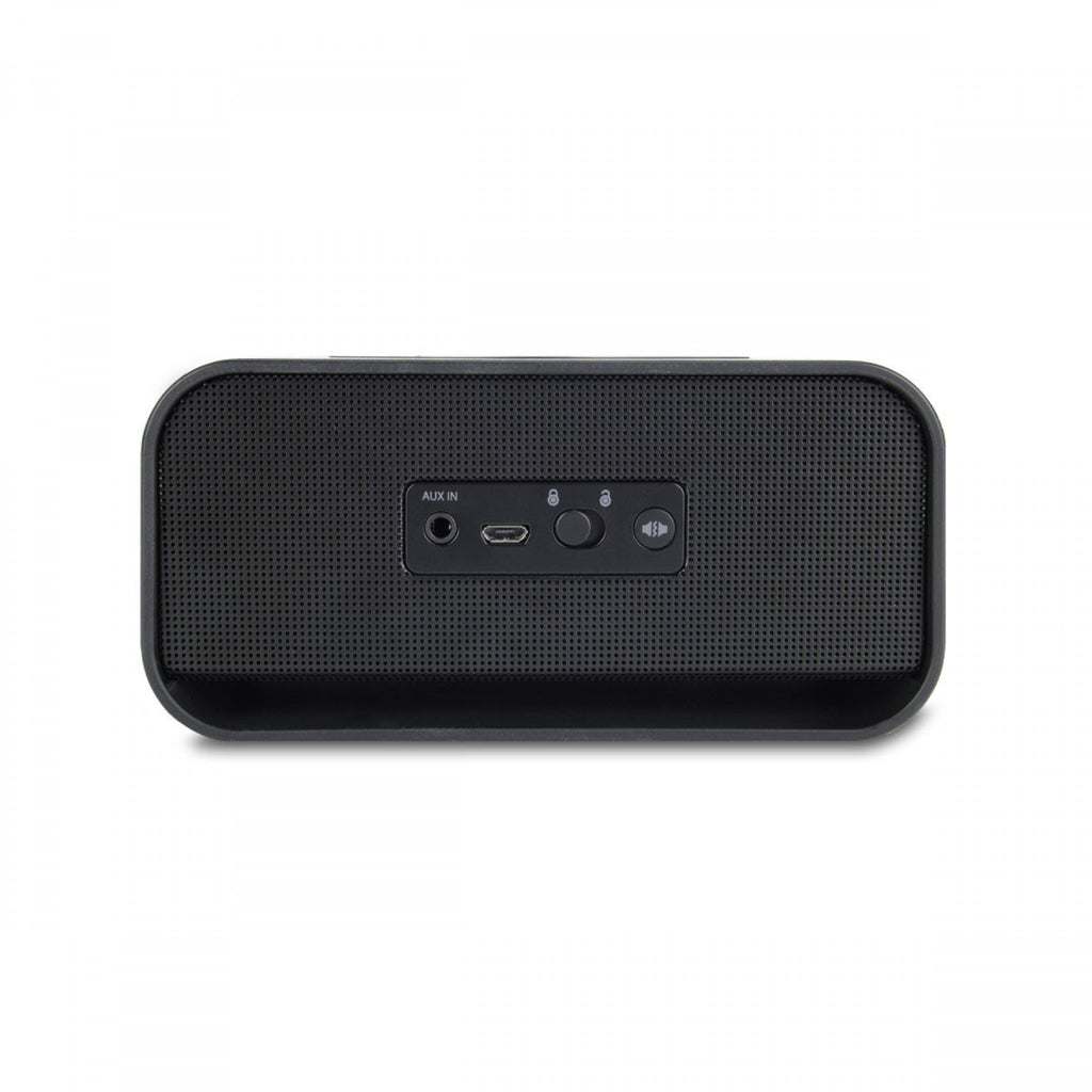 Brookstone Black Big Blue Live 2 Wireless Bluetooth NFC Speaker